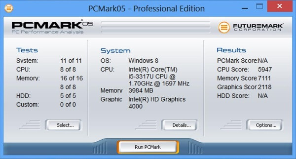 Samsung Ativ Tab7-PC Mark