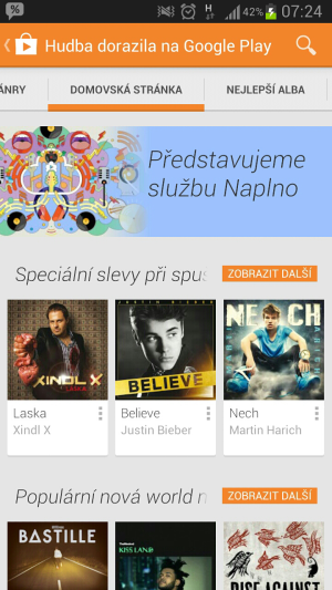 Google play music smartfon2