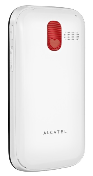 Alcatel 2000 Pure White Back-Left V1.0