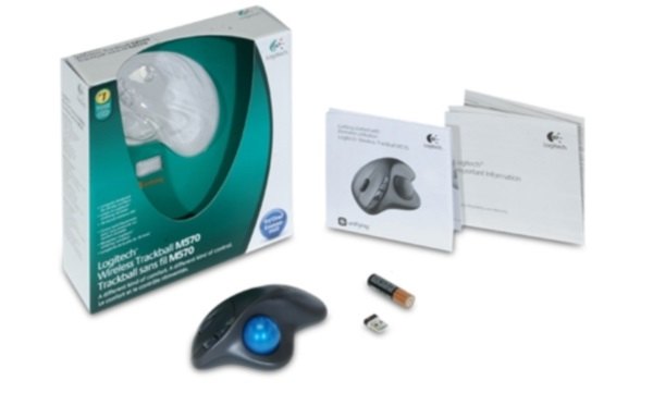 Logitech Wireless Trackball M570-11