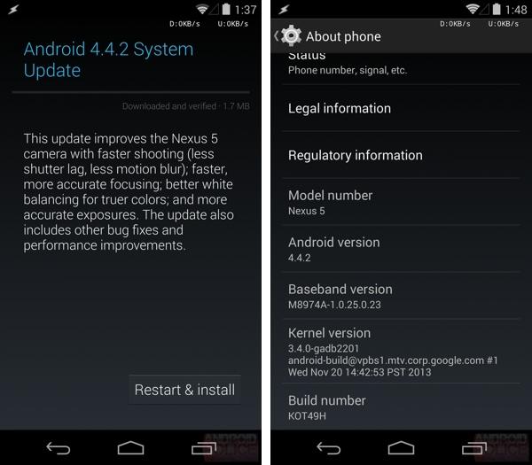 Nexus aktualizacia 4.4.2