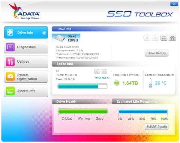 A-Data DriveInfo