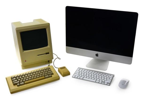 Macintosh 128K-iMac