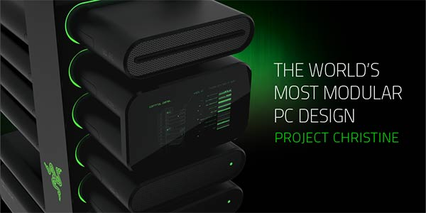 Razer project Christine