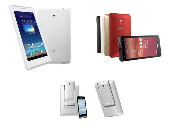 ASUS portfolio mobilnych zariadeni