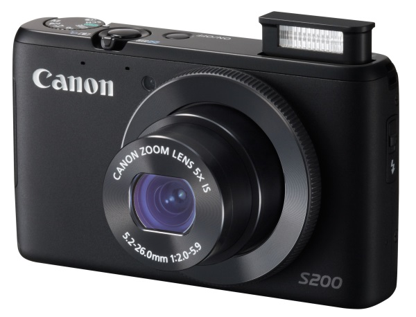 Canon PS S200 BLACK FSL 2