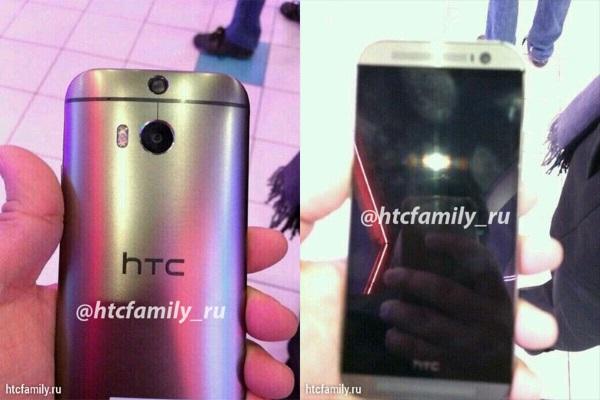 HTC M8-metal body