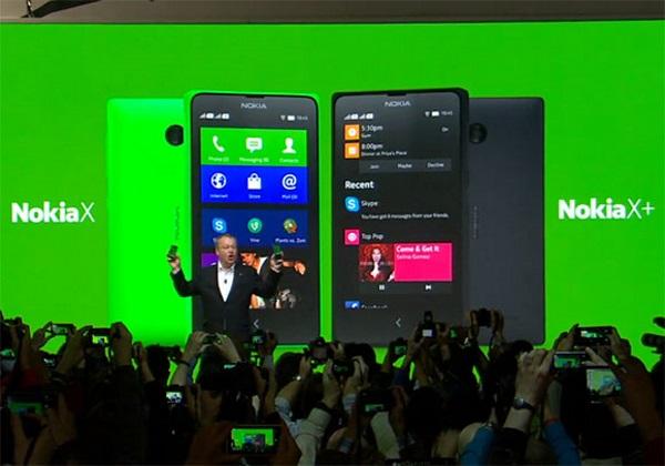 Nokia X a X+