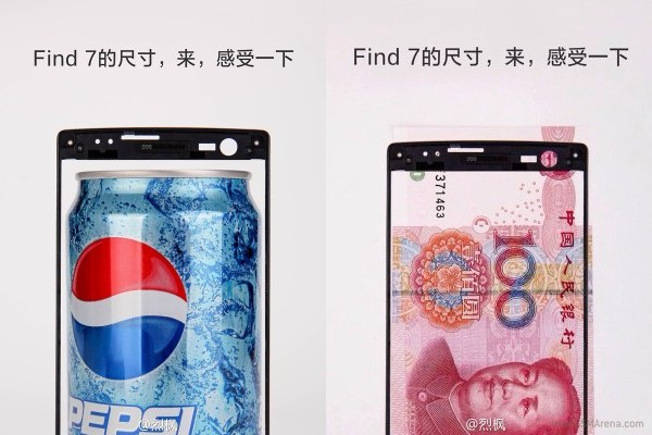 Oppo Find 7-panel
