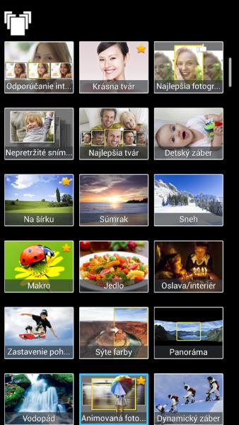 Samsung Galaxy S4 Zoom - Rezim fotenia1