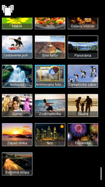 Samsung Galaxy S4 Zoom - Rezim fotenia2