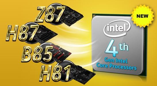 ASRock 8 series Intel