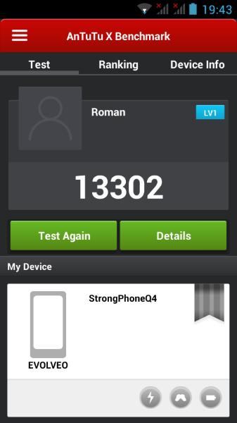 Evolveo StrogPhone Q4-AnTuTu X-2