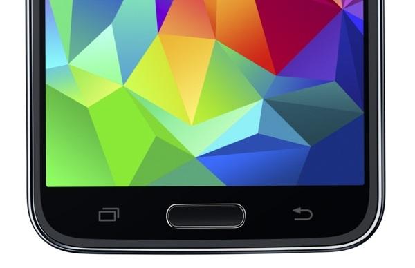 Galaxy S5-home button