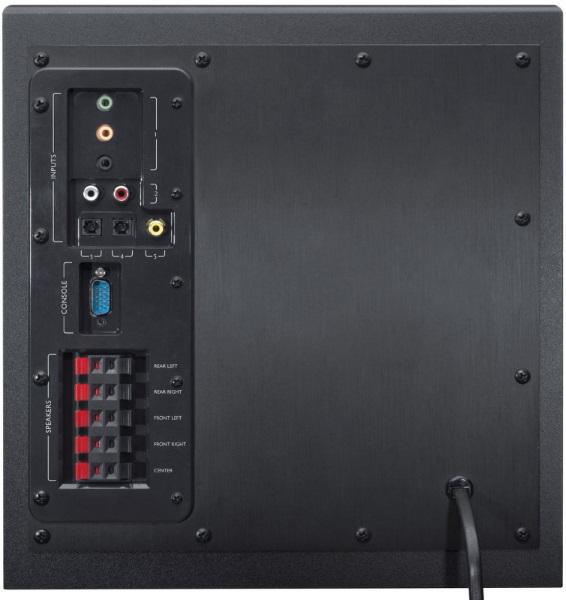 Logitech Speaker System Z906-zadna cast