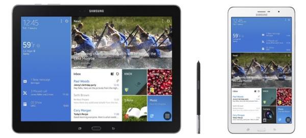 Samsung Galaxy NotePro 12.2 a TabPro 8.4