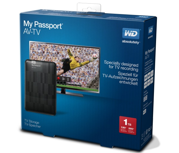 Western Digital My Passport AV-TV 01
