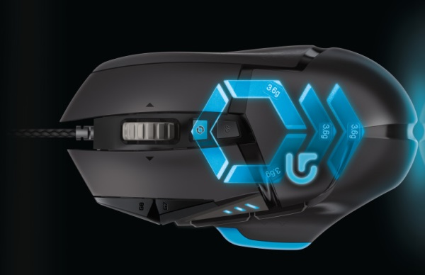 Logitech G502 Proteus Core Tunable Gaming Mouse 01