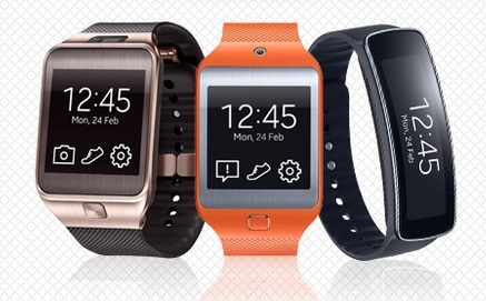 Samsung Gear 2 a Gear Fit