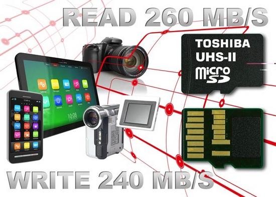 Toshiba microSD karty