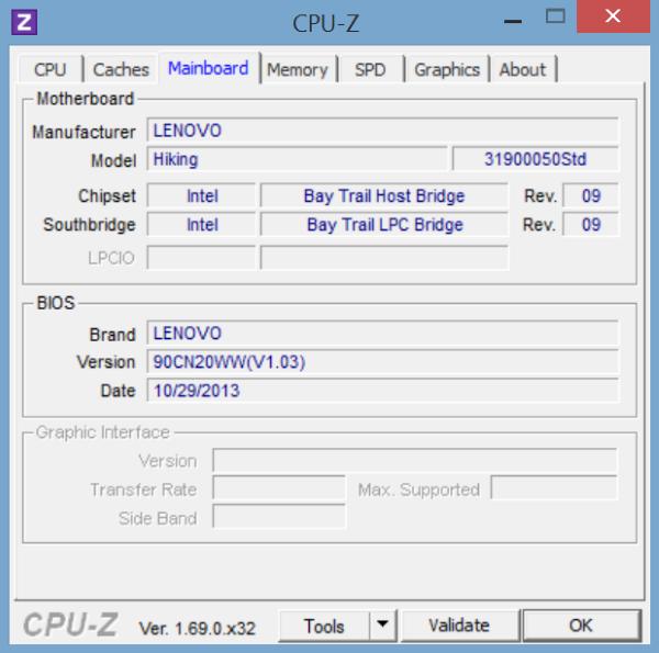 Lenovo Miix 2-CPU Z-2