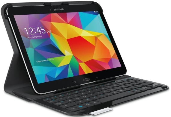 Logitech Ultrathin Keyboard Folio Samsung Galaxy Tab 4 10.1 01