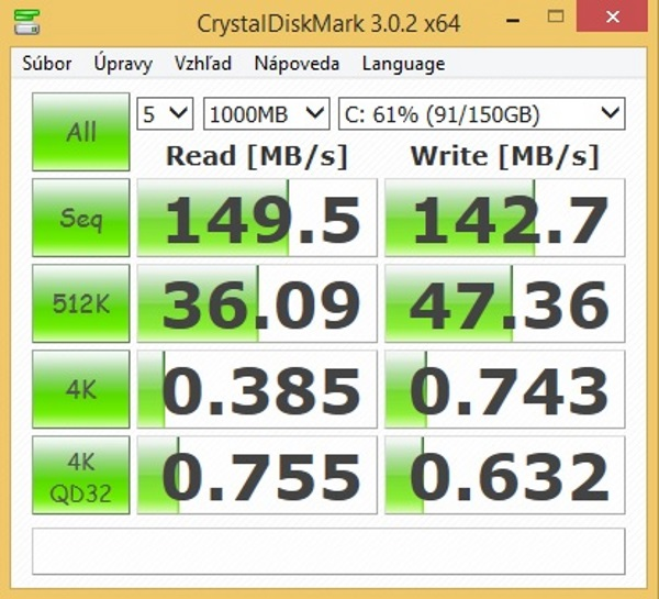 ASUS AiO ET2321INTH-CrystalDiskMark