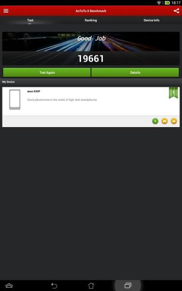 ASUS MeMo Pad 10 ME102A-AnTuTuX2