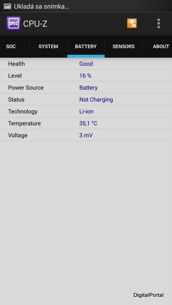 HTC One Max CPU - Z III