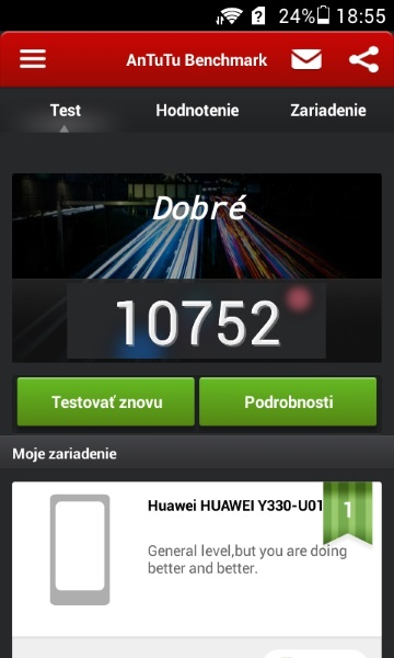 Huawei Ascend Y330-AnTuTuX2