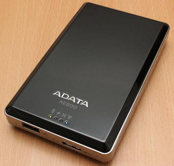 ADATA Air AE800 Wireless HDD & Power bank II