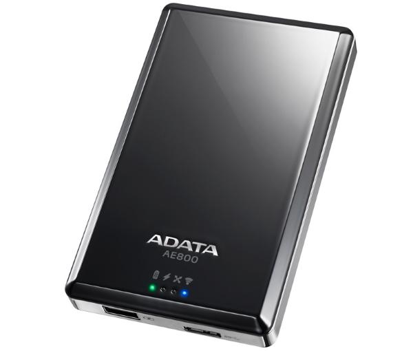 ADATA Air AE800 Wireless HDD & Power bank VI