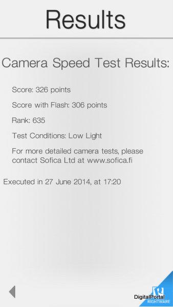 Lumia 1320 BaseMark X II
