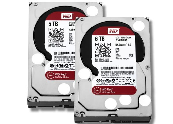 Western Digital 6 TB pevne disky NAS 01