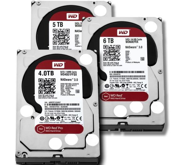 Western Digital 6 TB pevne disky NAS 02