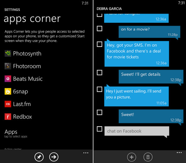 Windows Phone 8.1 GDR1 III