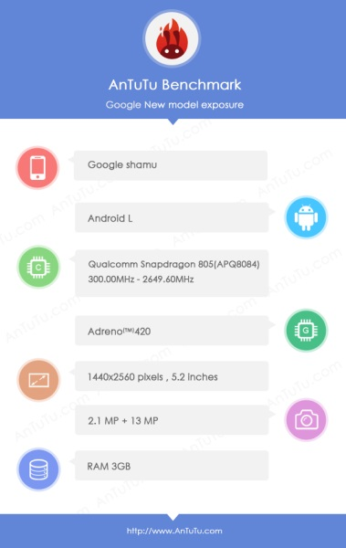 Google Nexus 6 Motorola Shamu 03