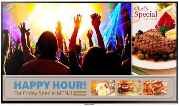 Samsung Smart Signage TV 01