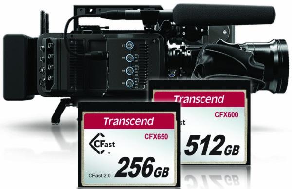 Transcend CFX650 a CFX600