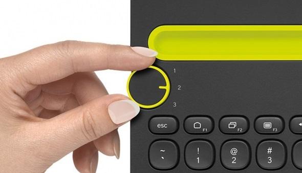 Logitech Bluetooth Multi-Device Keyboard K480 06