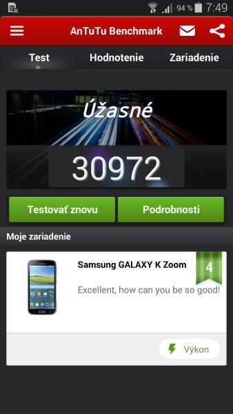 Samsung K Zoom - AnTuTu2