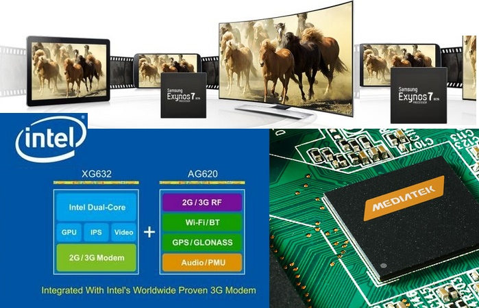 Samsung Exynos Intel Rockchip MediaTek Group