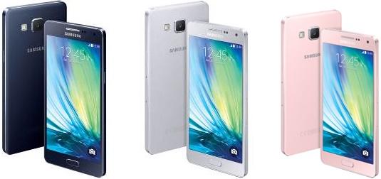 Samsung Galaxy A5 a A3