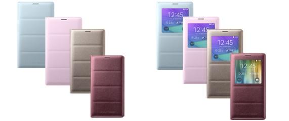 Samsung Galaxy Note 4 Flip puzdro clenity dizajn