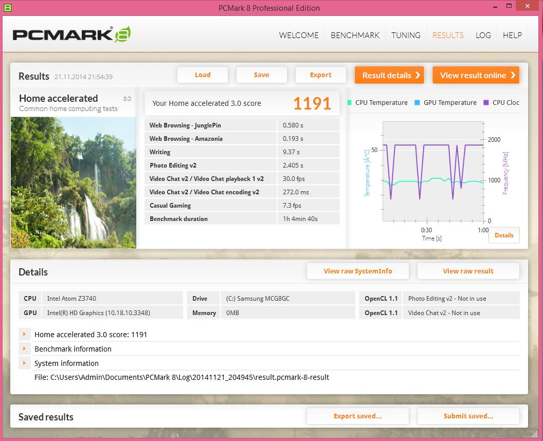 Lenovo Miix 2 10 PCMark8_01