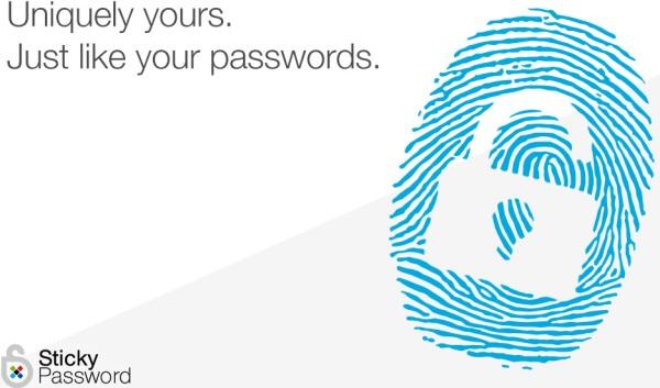 Sticky Password Biometria