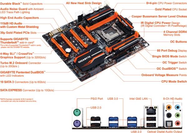 Gigabyte X99-SOC Champion 05