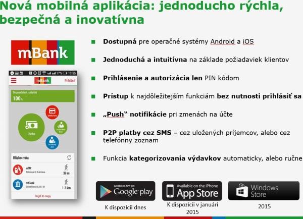 mBank aplikacia