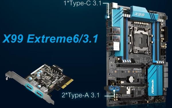 ASRock X99 Extreme6 3.1