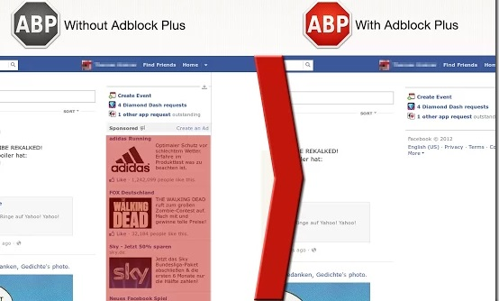 AdBlock Facebook Ads